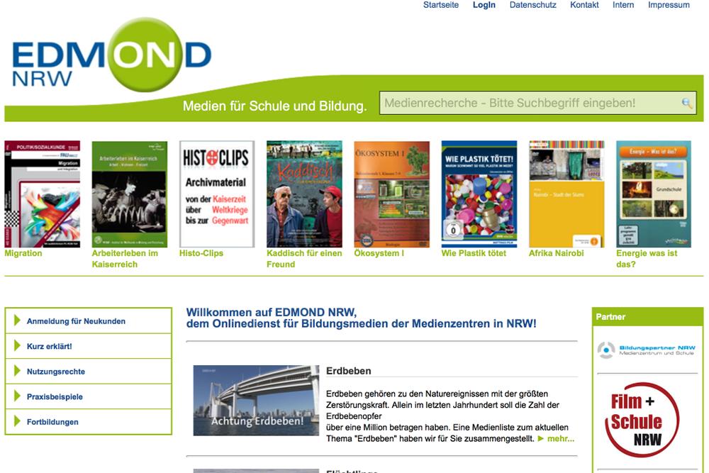 Bild: EDMOND-Webseite