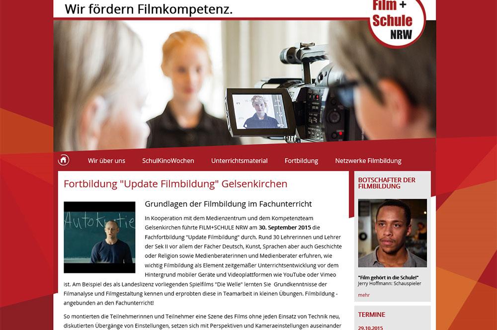 Bild: Update Filmbildung von Film und Schule NRW